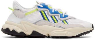 adidas White Ozweego Sneakers