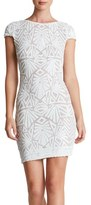 Dress the Population 'Tabitha' Sequin Mesh Minidress