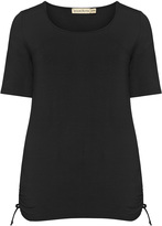 Isolde Roth Plus Size Cut-out detail top