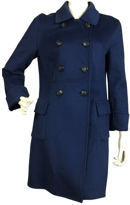 Strenesse Navy Wool Coat for Women