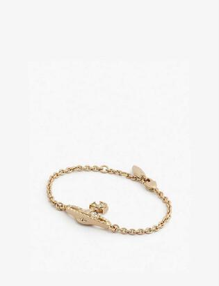 Vivienne Westwood Mayfair bas relief orb bracelet