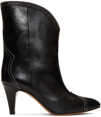 Isabel Marant Black Dythey Boots
