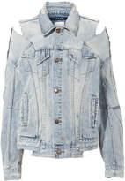 Ksubi Sliced Oversized Denim Jacket