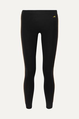 Bella Freud Billie Jean Striped Wool-blend Leggings