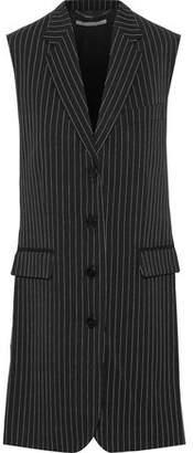 Stella McCartney Sadie Pinstriped Wool-blend Vest