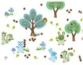 Wall Candy Arts WallCandy Arts Forest Friends Wall Decal Kit