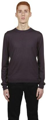 Prada Crew-Neck Knit Pullover
