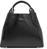 Lanvin Cabas Mini Leather Tote - Black