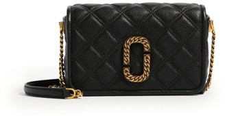 Marc Jacobs The The Leather Status Flap Cross-Body Bag