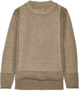 Maiyet Textured-cashmere sweater