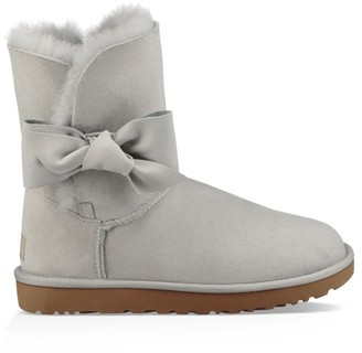 UGG Daelynn Wool Lined Leather Ankle Boots