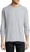Billy Reid Pensacola Jersey Polo Shirt, Gray