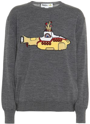 Stella McCartney Yellow Submarine virgin wool sweater