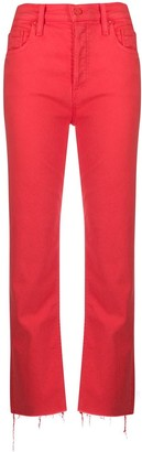 Mother Straight Leg Coloured Jeans