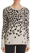 C by Bloomingdale's Cascade Leopard Cashmere Sweater - 100% Exclusive