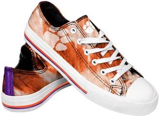 Women's Clemson Tigers Tie-Dye Canvas Shoe