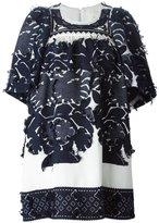 Chloé flared dress - women - Silk/Cotton/Acetate/Viscose - 40