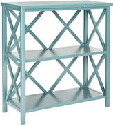 "One Kings Lane Hadley 33.5"" Bookshelf - Blue"