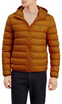 Lyle & Scott Lightweight Puffer Jacket, Dark Gold