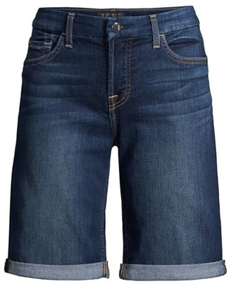JEN7 by 7 For All Mankind Bermuda Denim Shorts