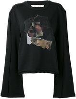 Damir Doma collage print sweatshirt