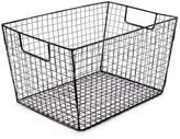 "Sur La Table Rectangle Wire Basket, 15"" x 10"""