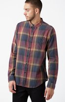 Ezekiel Connor Plaid Flannel Long Sleeve Button Up Shirt