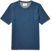 Folk - Slim-fit Knitted Cotton T-shirt