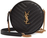 Saint Laurent Jade Matelasse Leather Crossbody Bag