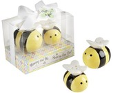 Kate Aspen Mommy and Me...Sweet as Can Bee Ceramic Honeybee Salt & Pepper Shakers (Set of 12)