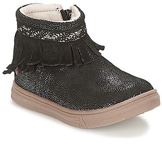 GBB NEFFLE girls's Mid Boots in Black