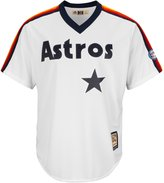Majestic Craig Biggio Houston Astros MLB 2015 Hall of Fame Patch Men's Cool Base Cooperstown Pullover Jersey