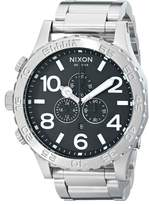 Nixon Men's A083-000 Stainless-Steel Analog Black Dial Watch