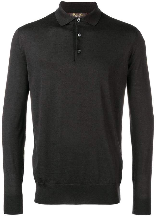 Loro Piana long sleeve polo shirt