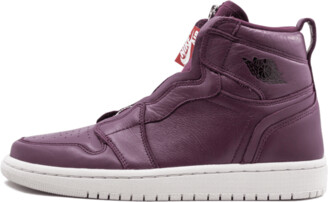 Jordan Womens Air 1 HI ZIP PREM Shoes - Size 5W