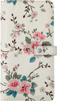 Cath Kidston Trailing Rose Travel Wallet with Detachable Purse
