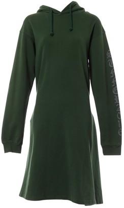 Vetements Green Cotton Dress for Women