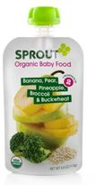 Sprout 4-Ounce Stage 2 Organic Baby Food in Banana, Pear, Pineapple and Broccoli