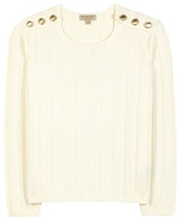 Burberry Knitted Wool And Cashmere-blend Sweater