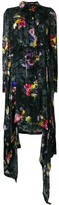 Preen by Thornton Bregazzi Amelia floral asymmetric dress