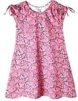 Art & Eden Amanda Tie Shoulder Dress