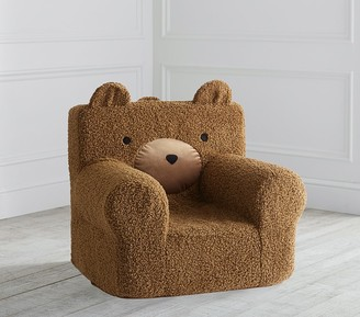 Pottery Barn Kids Teddy Bear Fur Anywhere Chair Slipcover Only