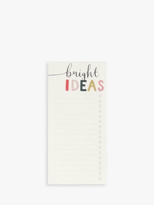 Caroline Gardner Bright Ideas List Notepad