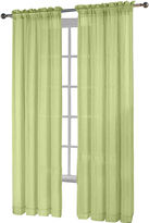 Fiesta Rod-Pocket Sheer Curtain Panel