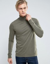 French Connection Roll Neck Top