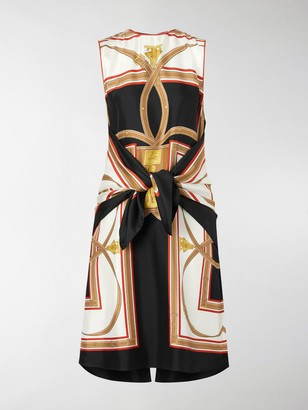 Burberry Archive Scarf print dress