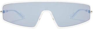 Christian Dior Sunglasses - Mercure Visor Sunglasses - Mens - Clear