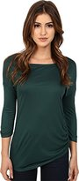 Three Dots Women's Kylie Long Sleeve Tunic