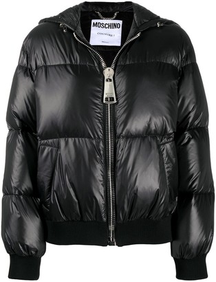 Moschino Logo Down Jacket