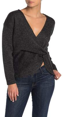 Rachel Roy COLLECTION Twist Front Sweater